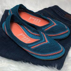 Poppy Mountain Delyte Crochet Ballet Style Flats